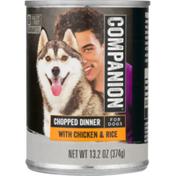 Companion Chicken & Rice Dog Food