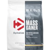 Dymatize Mass Gainer, Gourmet Vanilla, Super