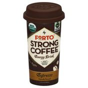 Forto Energy Drink, Strong Coffee, Espresso