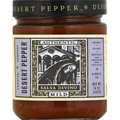 Desert Pepper Salsa, Divino, Mild