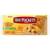 Hot Pockets Applewood Bacon, Egg & Cheese Frozen Sandwich