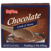 Hy-Vee Chocolate Cook & Serve Pudding & Pie Filling