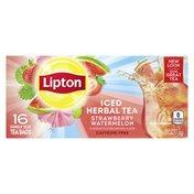 Lipton Family-sized Iced Tea Bags Strawberry Watermelon