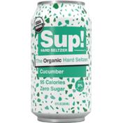 Sup! Cucumber Organic Hard Seltzer