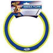 """NERF DOG 10"""" Nylon & Foam Mega Tuff Fabric Ring Disc Dog Toy"""