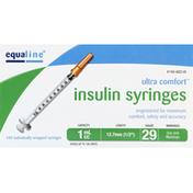 Equaline Insulin Syringes, 1 cc
