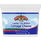 Land O Lakes Cottage Cheese, Small Curd, 2% Milkfat, Lowfat