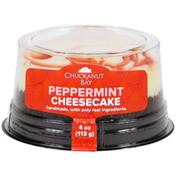 Chuckanut Bay Foods Peppermint Mini Cheesecake