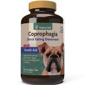 NaturVet Coprophagia Deterrent Plus Breathe Aid Dog Tablets