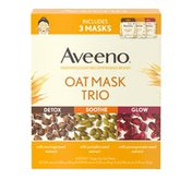 Aveeno Oat Mask Trio Pack