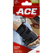 Ace Bakery Wrist Brace, Deluxe, L/XL, Right Wrist, Moderate-Stabilizing Support