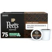 Peet's Coffee Major Dickason's Blend, Dark Roast K-Cup Pods