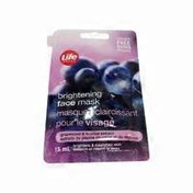 Life Brand Grape Seed & Licorice Extract Brightening Face Mask