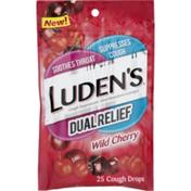 Luden's Luden's Wild Cherry Dual Relief Lozenges