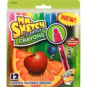 Mr. Sketch Crayons, Scented, Twistable