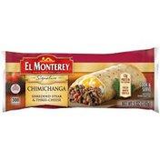 El Monterey Signature Shredded Steak & Three-Cheese Chimichanga