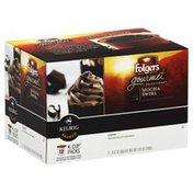 Folgers Coffee, Mocha Swirl, K-Cup Packs