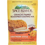 Spice Islands Southern Style Crunchy Panko Seasoned Coating Mix