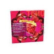 TCHO Strawberry Rhubarb Pie in Chocolate
