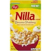 Post Nilla Banana Pudding Cereal