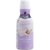 Lucerne Coffee Creamer, Vanilla Caramel