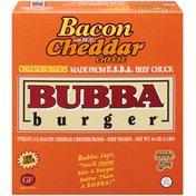 Bubba Burger Bacon Cheddar Cheeseburgers