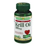 Nature's Bounty Krill Oil 500mg Dietary Supplement Softgels - 30 CT