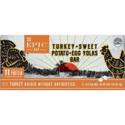 Epic Bars, Turkey + Sweet Potato + Egg Yolks