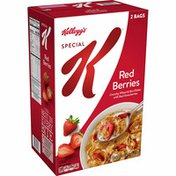 Kellogg's Special K Breakfast Cereal, 11 Vitamins and Minerals, Red Berries