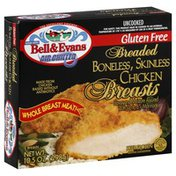 Bell & Evans Chicken Breasts, Breaded, Boneless, Skinless