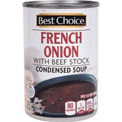 Best Choice French Onion With Beef Stock Condensed Soup