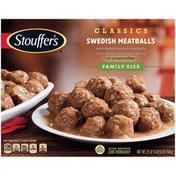 Stouffer's CLASSICS Family Size Swedish Meatballs