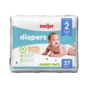 Meijer Premium Baby Diapers Size 2