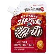Yum Butter Peanut Butter, Organic