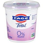 FAGE Total 0% Milkfat All Natural Nonfat Greek Strained Yogurt