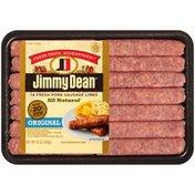 Jimmy Dean Premium All-Natural* Pork Sausage Links, 14 Count