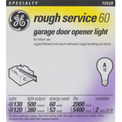 GE Rough Service 60 Garage Door Opener Light 60W Bulb - 2 CT