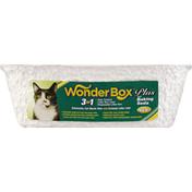 WonderBox Litter Box, Plus, with Baking Soda