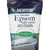 Morton Epsom Salt, Plus Eucalyptus to Relax