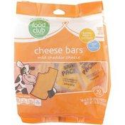 Food Club Mild Cheddar Cheese Bars