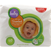 Baby Basics Baby Wipes, Scented