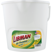 Libman All-Purpose Bucket with Dual Pour Spouts
