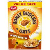 Honey Bunches Of Oats Crunchy Honey Roasted Cereal