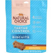 Nutro Natural Choice Adult Tartar Control Chicken & Whole Brown Rice Recipe All Natural Dog Biscuits