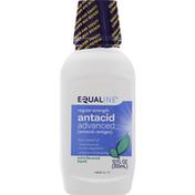 Equaline Antacid, Advanced, Regular Strength, Mint Flavored, Liquid