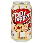 Dr Pepper Soda, Diet, Cherry Vanilla