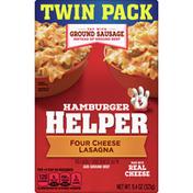 Hamburger Helper Four Cheese Lasagna Twin Pack, 2 Count