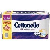 Cottonelle Ultra ComfortCare Double Roll Bathroom Tissue