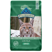 Blue Buffalo Wilderness High Protein, Natural Adult Dry Cat Food, Duck