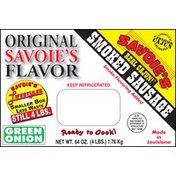 Savoie Smoked Green Onion Sausage